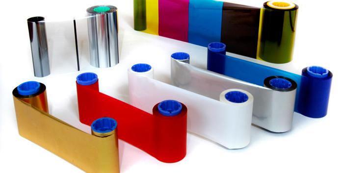 Nastri per stampanti di tessere plastiche